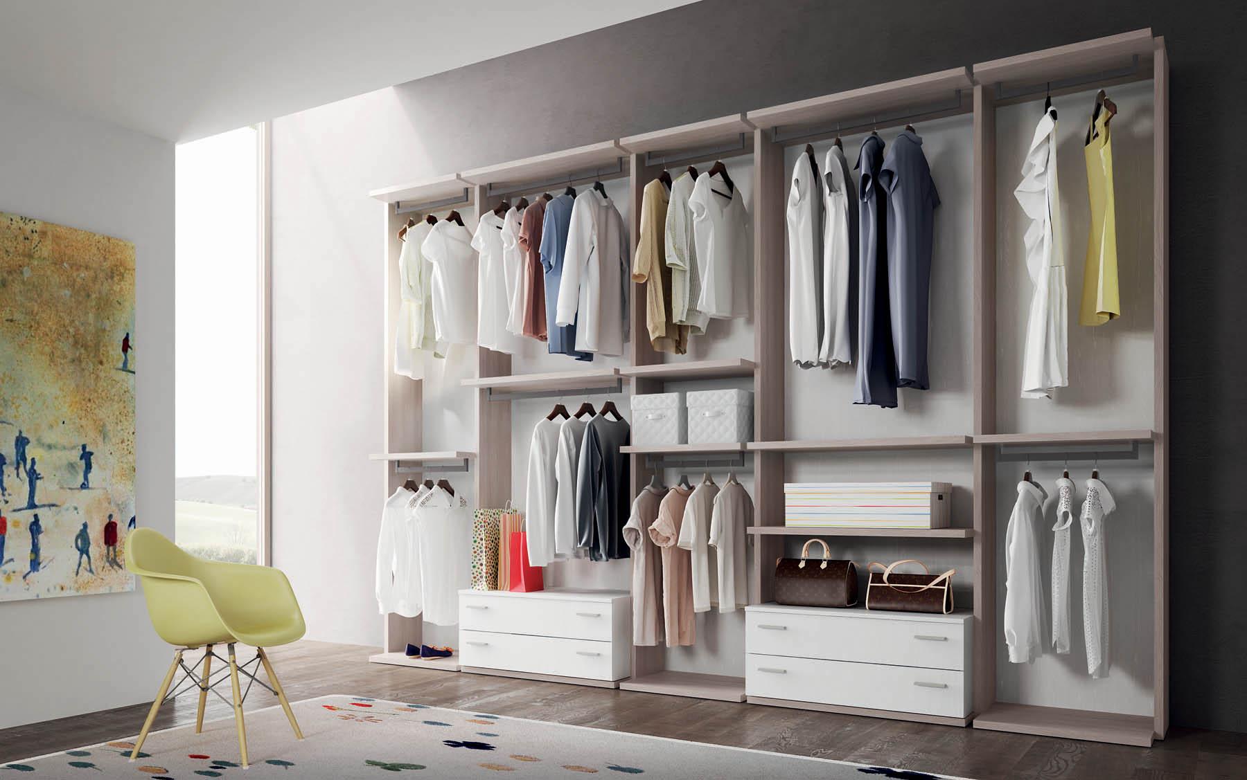 Cabina armadio armadi e cabine mistral for Ikea armadio angolare