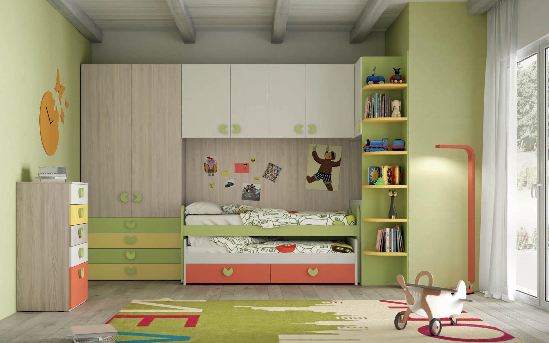 Camere e camerette a ponte per bambini - Mistral