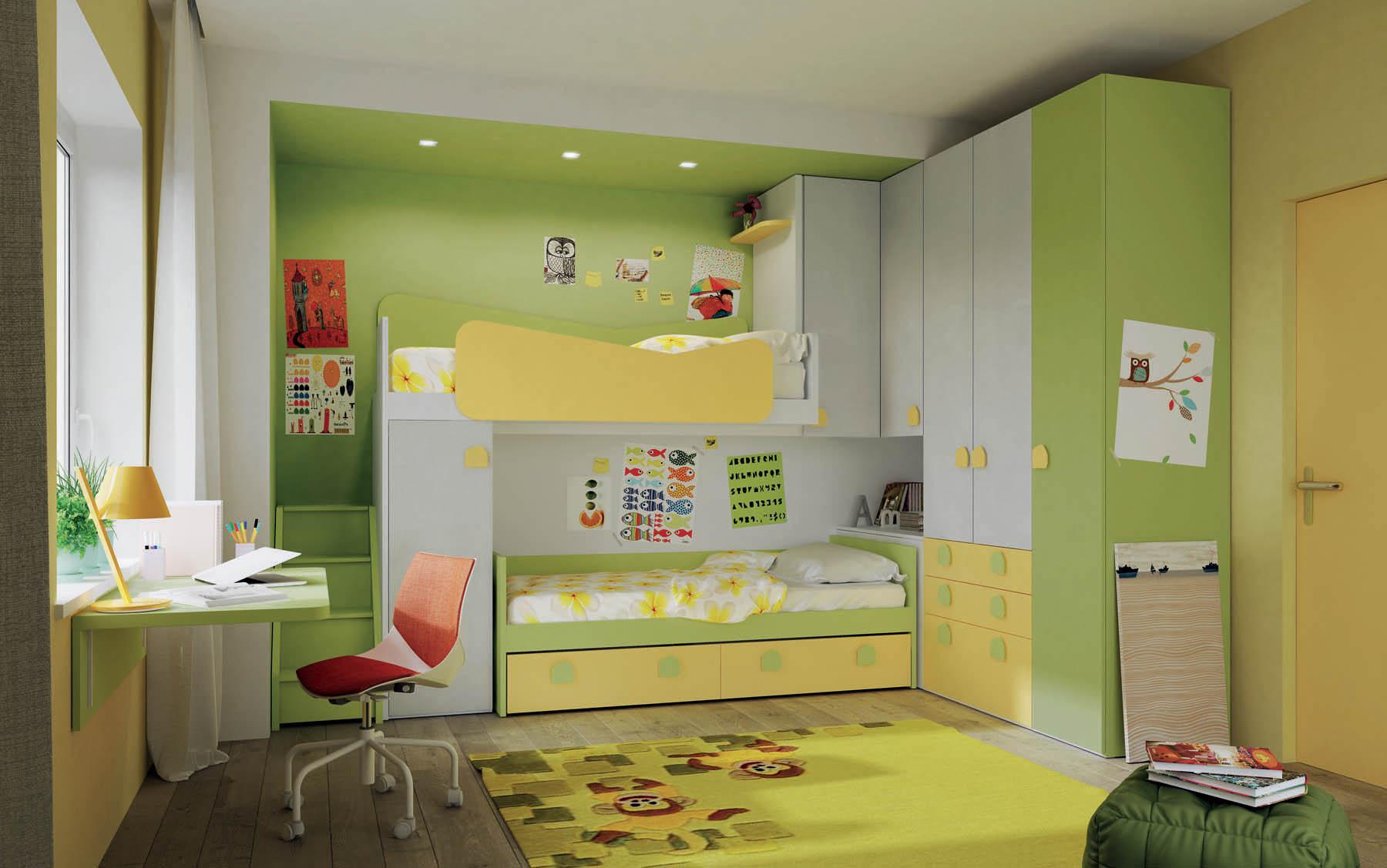 Camere Per Ragazzi Salvaspazio : Camere e camerette salvaspazio per ragazzi mistral