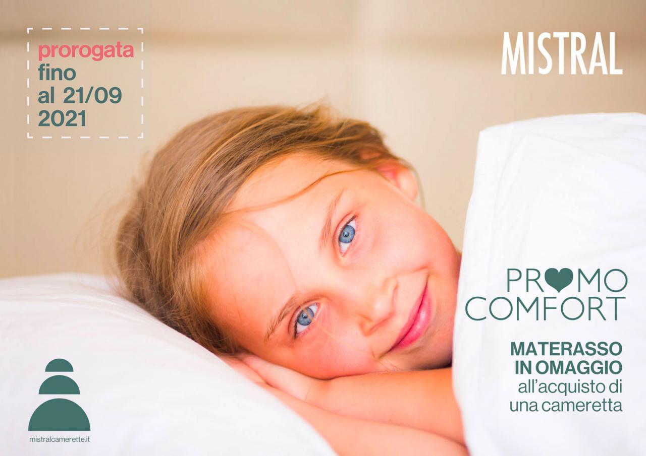 Promo Comfort: con Mistral il materasso è in omaggio!